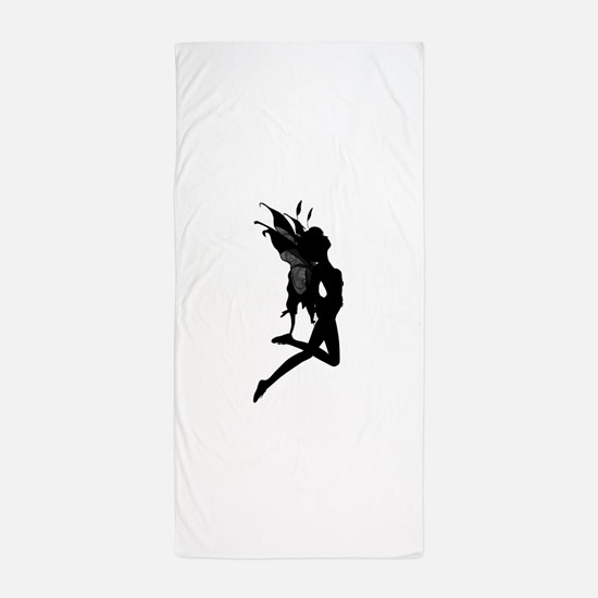 Fairy Silhouette Beach Towel
