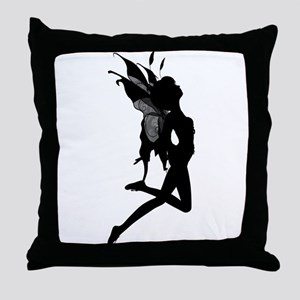 Fairy Silhouette Throw Pillow