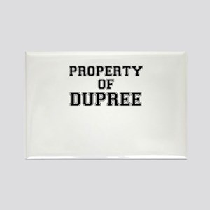 Property of DUPREE Magnets