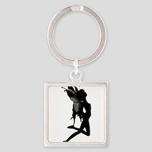Fairy Silhouette Keychains