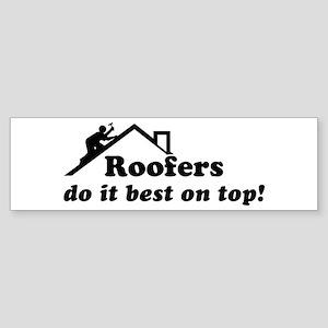 Roofer Bumper Sticker