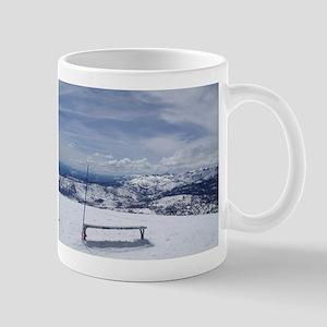 top of mammoth Mug