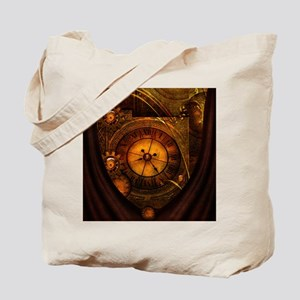 Awesome noble steampunk design, clocks Tote Bag