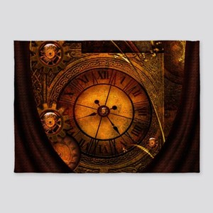 Awesome noble steampunk design, clocks 5'x7'Area R