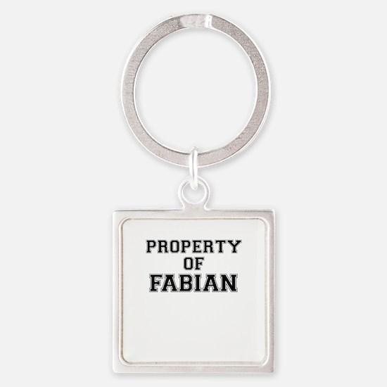 Property of FABIAN Keychains