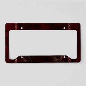 Celtic knote, vintage design License Plate Holder