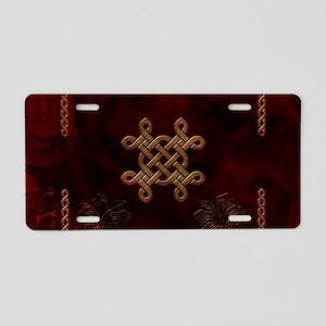Celtic knote, vintage design Aluminum License Plat