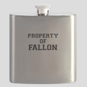 Property of FALLON Flask