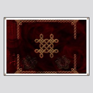 Celtic knote, vintage design Banner