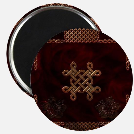 Celtic knote, vintage design Magnets