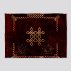 Celtic knote, vintage design 5'x7'Area Rug