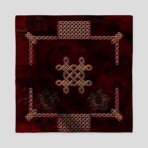 Celtic knote, vintage design Queen Duvet