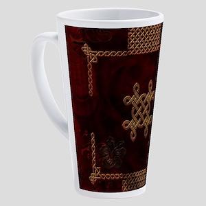 Celtic knote, vintage design 17 oz Latte Mug