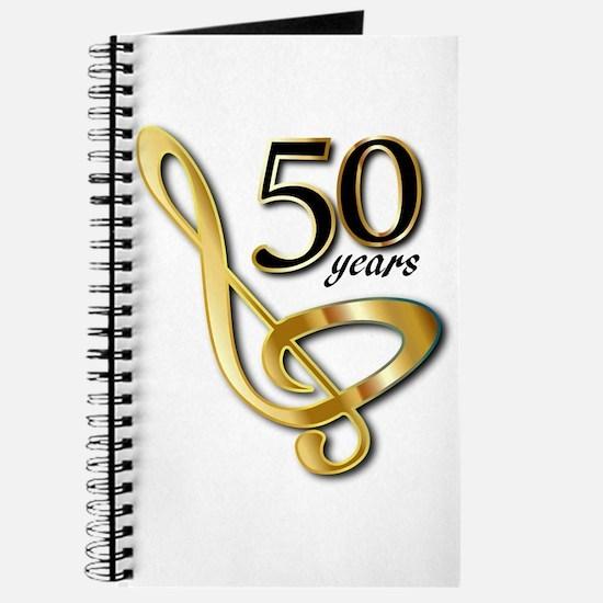 50 Years Golden Celebration Journal