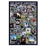 The Year of Jumping Boy Large Poster