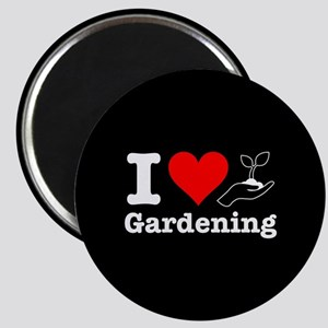 I Heart Gardening Magnet