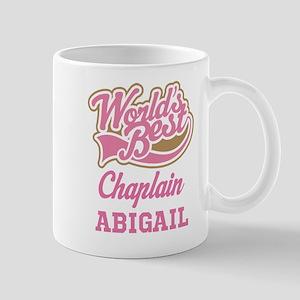 Chaplain Personalized Gift Mugs