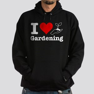 I Heart Gardening Hoodie (dark)
