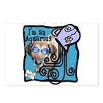 I'm an Aquarius Postcards (Package of 8)