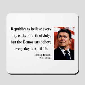 Ronald Reagan 10 Mousepad