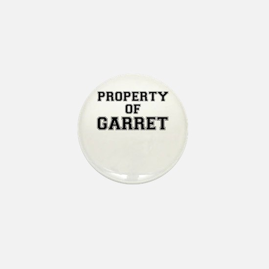 Property of GARRET Mini Button