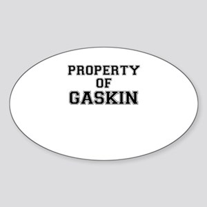 Property of GASKIN Sticker