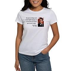 Ronald Reagan 11 Women's T-Shirt