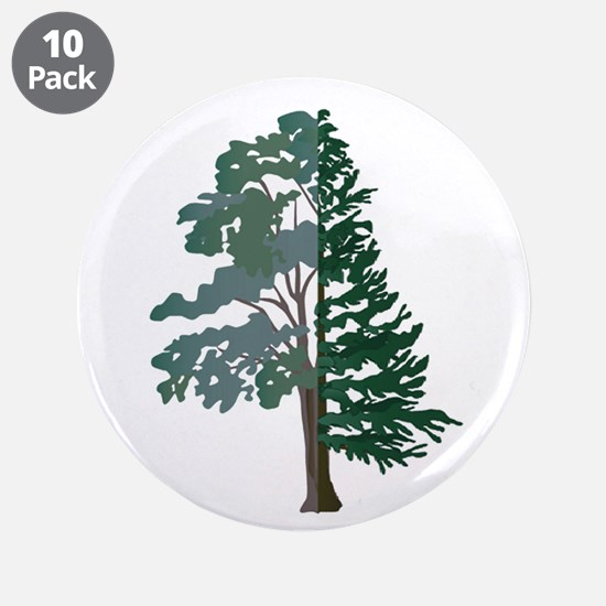 """FOREST 3.5"""" Button (10 pack)"""