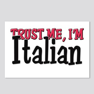 Trust Me I'm Italian Postcards (Package of 8)