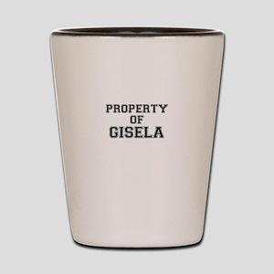 Property of GISELA Shot Glass