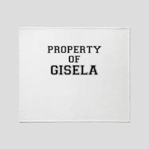 Property of GISELA Throw Blanket