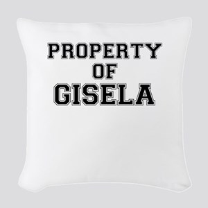 Property of GISELA Woven Throw Pillow