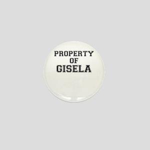 Property of GISELA Mini Button