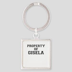 Property of GISELA Keychains