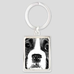 Boxer Puppy Keychains