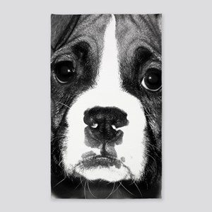 Boxer Puppy Area Rug