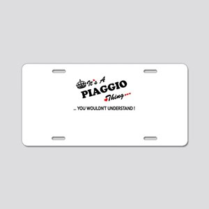 PIAGGIO thing, you wouldn't Aluminum License Plate