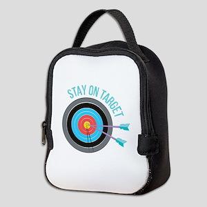 Stay On Target Neoprene Lunch Bag