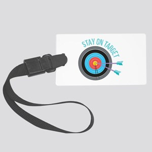 Stay On Target Luggage Tag