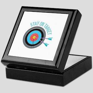 Stay On Target Keepsake Box