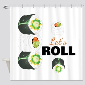 Lets Roll Shower Curtain