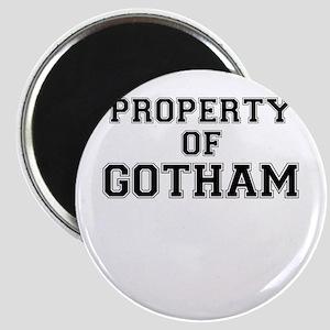 Property of GOTHAM Magnets