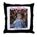 Cure for Dani Throw Pillow