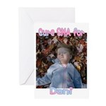 Cure for Dani Greeting Cards (Pk of 10)