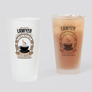 Lawyer Fueled By Coffee Drinking Glass