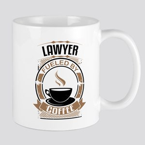 Lawyer Fueled By Coffee Mugs