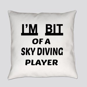 I'm bit of a Sky Diving player Everyday Pillow