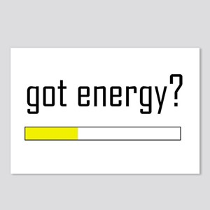 Got Energy Postcards (Package of 8)