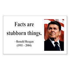 Ronald Reagan 16 Rectangle Decal