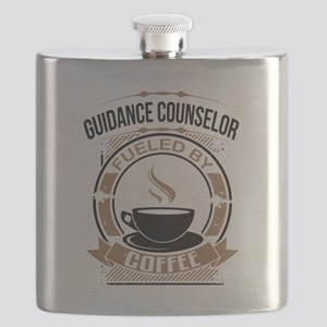Guidance Counselor Fueled By Coffee Flask
